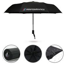 BMW Performance M Sport Parapluie Voiture Pliable Brolly Cadeau Hiver Poche Noir