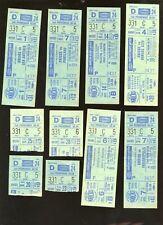 1973/1978 NBA Basketball New York Knicks Full Tickets & Stubs 22 Different