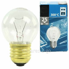 Universal Internal Oven Cooker Bulb Lamp E27 ES 25w 300º High Temperature