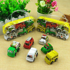 6pcs Car Basic Car Toy Mini Model Pull Back Cars Toy For Children Boys Gift YJ