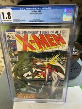 X-Men #61 CGC 1.8.. 2nd App of Sauron..Monsters Also Weep!...UNRESTORED