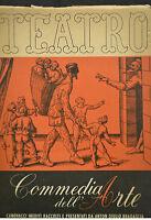 TEATRO, Commedia dell'Arte, 1943.