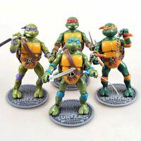 Teenage Mutant Ninja Turtles 20cm Plush SET 4 Donatello Leonardo Michelangelo/&Ra