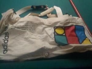vintage 90s adidas  ivan lendl on court duffel bag