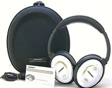 Bose QuietComfort 15 QC15 Headphones W/ Case - Silver   50-7A