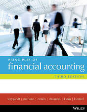 NEW - FAST to AUS - Principles of Financial Accounting by Weygandt (3 Ed)