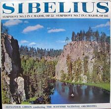 Sibelius Symp.no.3 in C Major-Symp. no.7 in C Major,Op.105 - SAGA 5284 UK EX
