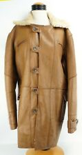 Vintage Leather Sheep Shearing Flight Coat Mens size 3X Rancher
