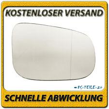 Spiegelglas zum Kleben für VOLVO S80 II 2006-2014 rechts asphärisch