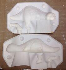 "Vintage Estate 9.5"" Sleeping Shelf Dinosaur Ceramic Mold S-2253 Scioto"