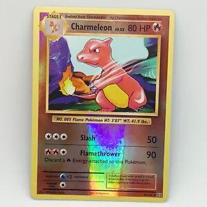 Charmeleon 10/108 - Reverse Holo - XY Evolutions - Pokemon Card - NM