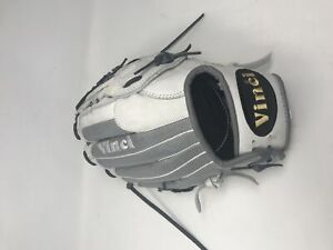 New Other Vinci Mesh Series White/Gray Mesh 13.5 Inch Fielders Glove RHT