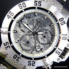 Invicta Subaqua Noma III Meteorite Swiss Mvt Chronograph Black 50mm Watch New
