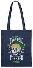 Time Hero Forever Shopper Shopping Bag Hyrule Gaming Fun Games Gamer Skull