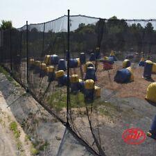 Paintball Netting - Fire Retardant - 10' x 200' - indoor use