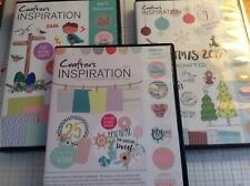 Craft inspirations - 3 X CD collections with various designs & backing papers