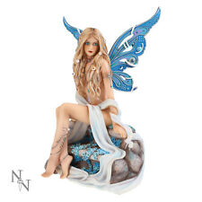 Nemesis Now Jewelled Fairy Sapphire Gothic Figurine Ornament Sculpture 19cm