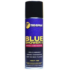 Techspray 1667-18S Blue Shower II Cleaner/Degreaser 18OZ Aerosol