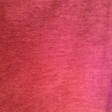Dunelm Deep Red Velour Lined Curtains With Tie Backs W46 X L 72 Inches
