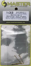 Master 1/32 Browning Mk.2 0.303 Calibre British Gun Barrels flash hider # 32011