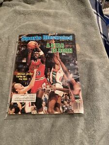 Michael Jordan Sports Illustrated  December 10, 1984  A Star Is Born Bulls