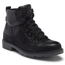 New in Box-$350 COLE HAAN Keaton Hiker II Waterproof Black Leather Boot SZ 10.5