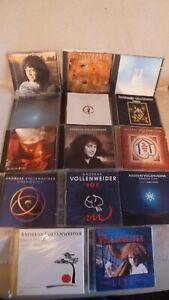 Andreas Vollenweider Job lot: Behind, Caverna, White, Down, Dancing (14CD's)used
