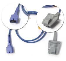 Nellcor Covidien Compatible Short Spo2 Sensor Adult Soft Same Day Shippin