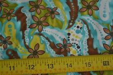 By 1/2 Yd, Bright Paisley Quilting, Paintbrush/Hansen/Radiance/120-345, B551