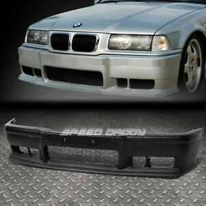 FOR 92-98 BMW E36 3SERIES 1PC M3 STYLE FRONT BUMPER FASCIA COVER BODY KIT+GRILLE