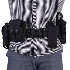 Security Guard Modular Enforcement Duty Belt Tactical Nylon Black Waistband Band