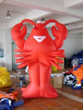 20ft 6M Advertising Giant Inflatable Lobster Restaurant Promotion Free Blower ax