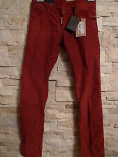 DSQUARED2  SEXY BRICK CORDUROY LOW RISE MEN'S JEANS ITALY SIZE 44 /  28