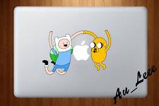 Macbook Air Pro Vinyl Skin Sticker Decal Adventure Characters Jump Jake CMAC200