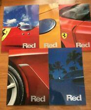 Magazine Ferrari World in Red numéro 1 à 5