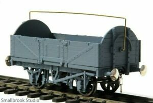 7mm scale 0 gauge 5-plank Round End Open Waggon Kit Smallbrook