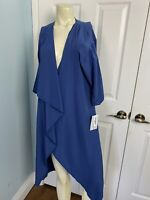 Lularoe Shirley Kimono NEW Small Solid Blue Size Small Soft Coverup NWT