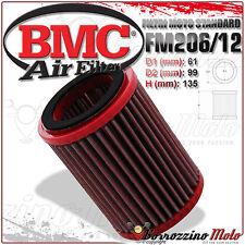 FILTRO DE AIRE DEPORTIVO BMC HONDA CB 600 F CB600 F HORNET 2001-2002 FM206/12