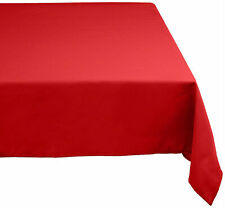 Design Imports DII Red Polyester Tablecloth