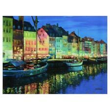 "Copenhagen"" Limited Edition On Canvas; COA"