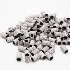 UK BEST Nail Drill Bit White Zebra Sanding Bands Gel Acrylic Polish Remover