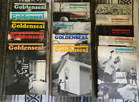 West Virginia Traditional Life 1980's Goldenseal Magazine Lot of 15