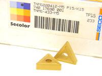 10 NEW SURPLUS SECO CARBOLOY TNMG 433-M5 TP15 CARBIDE INSERTS (TNMG 220412)
