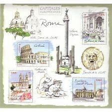 Bloc Feuillet BF53 - Capitales européennes - Rome - 2002