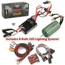 Castle Creations 1/18 Mamba Micro X WP ESC w/ 5300kV Motor w/8 Bulb LED System