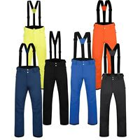 Mens Ski Trouser Padded Sport Pant Waterproof Snow Winter Salopettes Achieve