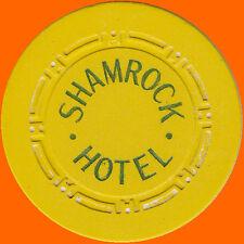 SHAMROCK HOTEL $5 1951 OBSOLETE CASINO CHIP LAS VEGAS - FREE SHIPPING