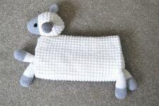 Hand Crochet, White Baby Sheep Blanket, Knitted, Lamb