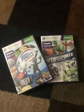 Lot Of 2 Xbox 360 Kinect Motion Sports Play For Real  Game Party In Motion