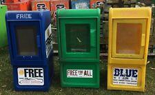 TABLOID SHOPPER NEWSPAPER- Broadsheet Outside  Box--PLASTIC